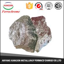 can be used as a cap ingot heating agent the most optimal Anyang ferrochrome block