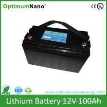12V 100ah tiefe Zyklus-Lithium-Batterie-aufladbare Batterien