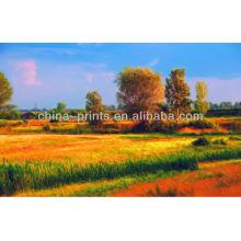 Pintura a óleo das pinturas da paisagem por mestres famosos