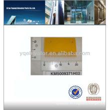 Kone escalator peine placa KM500937H02