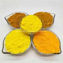 Polvo amarillo cromado de fábrica para tinte