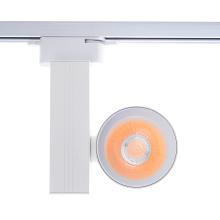 Luz de trilho led remota de alumínio 3 fios