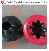 nitrile rubber materials API cement plug for oilfield well driling