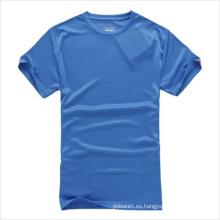 Personalizado por adelantado ajuste camiseta en blanco