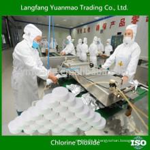 Clo2 Chimique / Désinfectant pour l'industrie alimentaire / Maison d'abattage