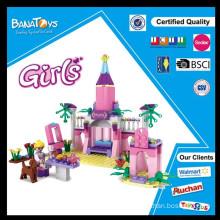 Oferta especial! 2015 Natal dom inteligência produtos edifício bloco princesa casa de tijolo brinquedo