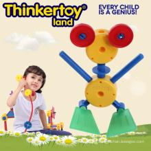 Naughty Frog Model DIY Educação Brinquedos Toy Brinquedos Plásticos