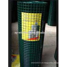 Fabricante al por mayor galvanizado barato / PVC revestido con malla de alambre soldada con alta calidad