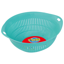 PP plastic round sieve with two ears