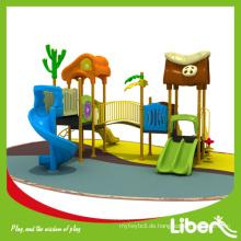 LLDPE Typ Günstige Plastik Vorschule Spielzeug / Kinder Outdoor Spielplatz zum Verkauf