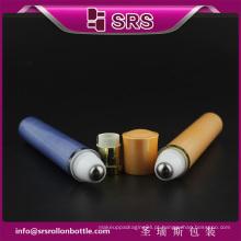 10ml plástico cosmético eletrônico vibração série rolo sobre garrafa