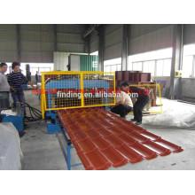azulejo de canto de estándar portátil haciendo teja paso máquina fabricante de azulejo de máquina/techo paso del balanceo