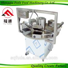 Machine de fabrication automatique de rouleaux de gaufrettes automatique ISO approuvée