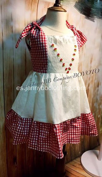 WDW Remake Girl Vestido de Bordado