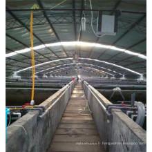 Générateur d'oxygène pour la pisciculture