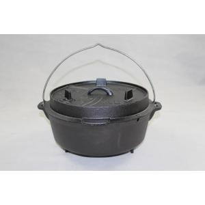 Pre Seasoned Cast Iron Camp Pot
