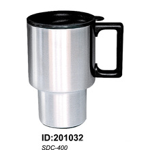 Sdc400 Stainless Steel Vacuum Double Wall Auto Car Mugs New