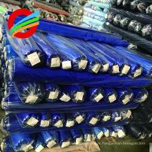 Tela lisa tingida material do algodão do poliéster do twill / estoque TC 65/35