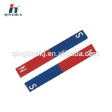 Bar magnets pair steel--physical instrument