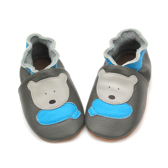 Genuine Leather Cute Animal Soft Baby Shoes Hotsale