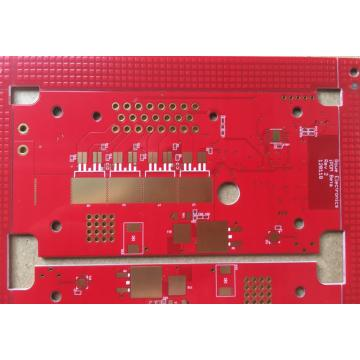 4 layer Red Solder HDI PCB