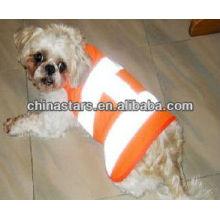 Pet dog hi vis reflective safety vests