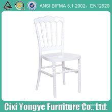 White Napoleon Chair with 2 Year Warrant