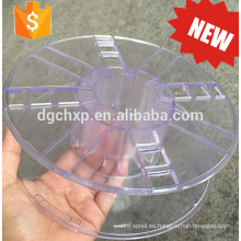Bobina plástica de la bobina del filamento de la impresora 3d