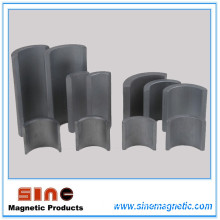 Arc Shaped Permanent Hard Ferrite Magnet