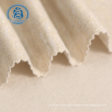 Manufactory high quality knit cvc polyester cotton french terry cloth fabric