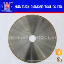 Hojas de sierra de diamante silenciosas para cortar cuarzo duro