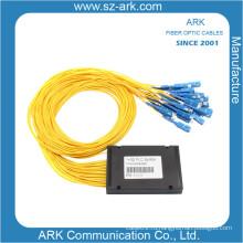 Китай Поставщик 1 * 32 волоконно-оптических PLC Coupler / PLC Splitter