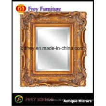 Espejo de madera tallado a mano adornado / marco de cuadro