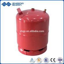 Réservoirs de gaz de cylindre de GPL utilisés à la maison 3 kg Turquie