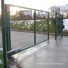 PVC Coated Welded Mesh Fence Gate