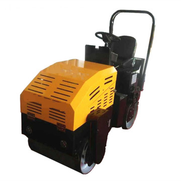 Double Drums Vibrator Road Roller 1 Ton