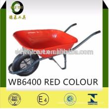 fabricant de la Chine brouette WB-6400 avec résistant