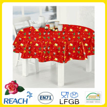 New Designs Christmas Table Oil Cloth PVC