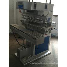 Máquina automática de la impresora del cojín de la transferencia del color 8 de la tinta automática China