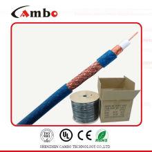 Cable coaxial de aluminio recubierto de cobre RG-6