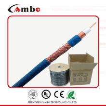 RG-6 copper clad aluminum coaxial cable