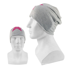 Outdoor winter fashion promotion multifunctional custom sports beanie hat for unisex