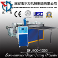 Semi-Automatic Paper Roll Sheeting Machine