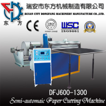 Felt Roll Sheeting Machine with Middle Slitting Device