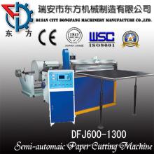 Máquina de laminação de rolo de material de membrana RO com função de corte de borda
