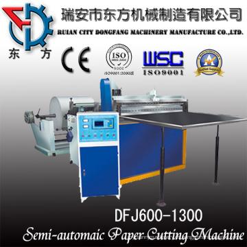 Máquina de corte de rollo de papel Massicot