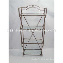 Metal Goods Shelf, Wrought Iron Shelf