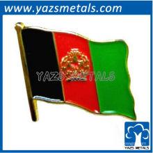 Personalize o pino de bandeira com galvanoplastia de ouro