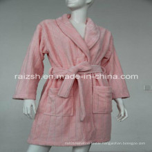 Drap-Neddle Coral Fleece Robes for Winter