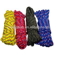 Cable de cuerda de poliéster trenzado de 3 mm